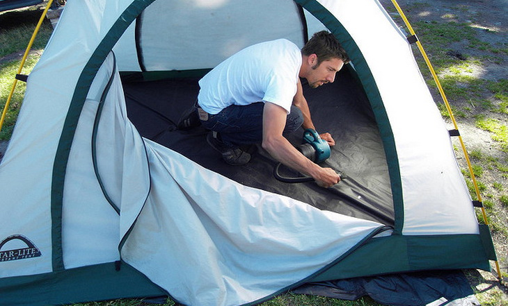 best way to waterproof a tent