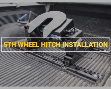 5th wheel hitch installation