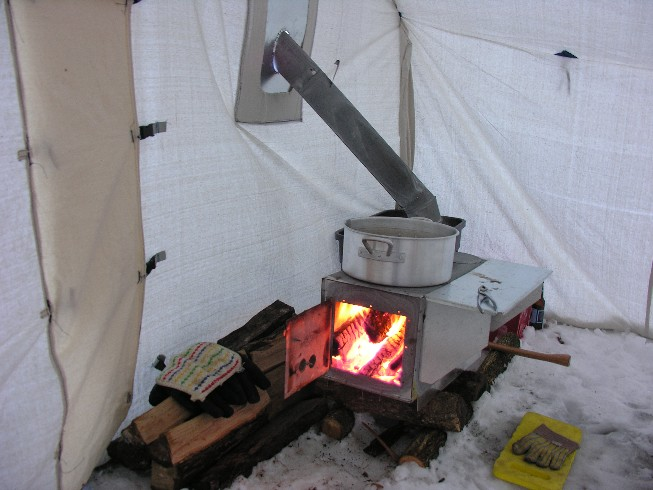 How To Heat A Tent Without Electricity 2
