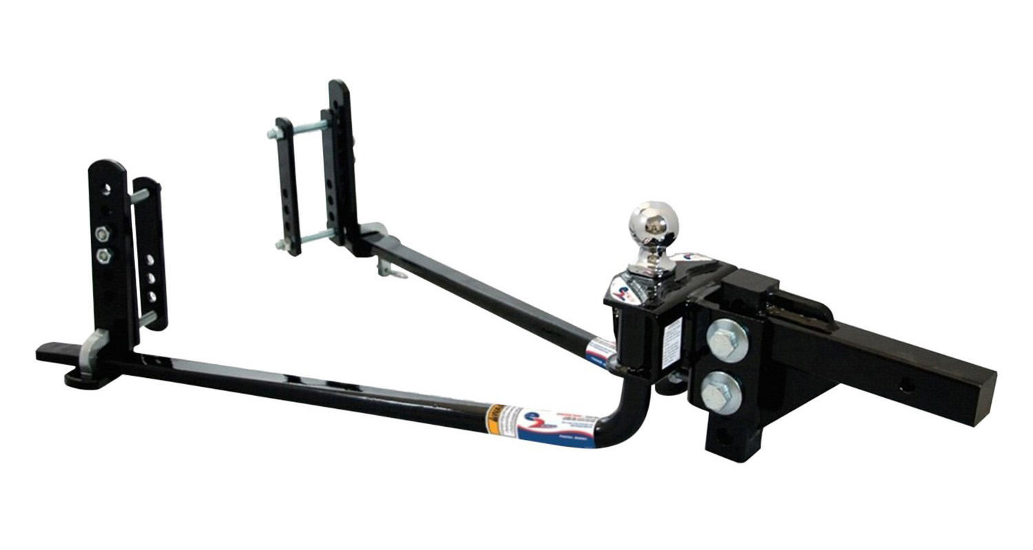 How does a weight distribution hitch work 1