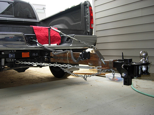 How does a weight distribution hitch work 4