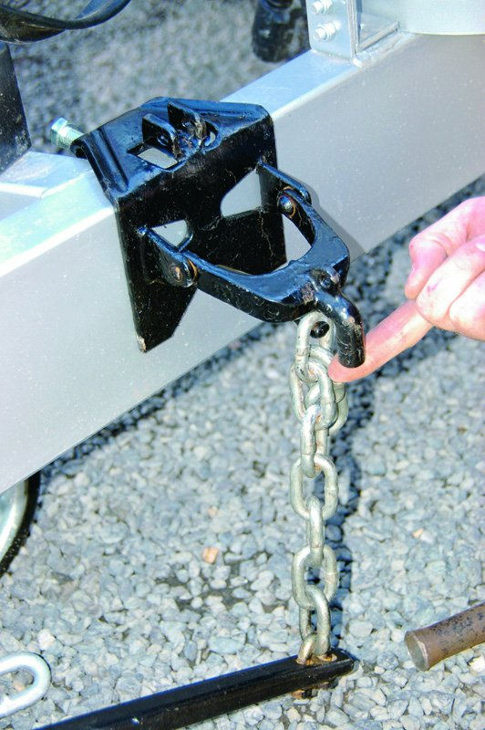 Weight Distribution Hitch Setup 3