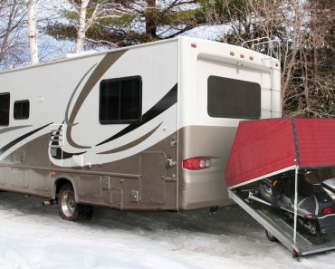 Winter RV Camping Trip