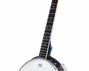 Resoluute 5 String Resonator Banjo with 24 Brackets with close back